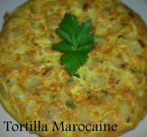 Tortilla marocaine le blog cuisine de samar - Recette de cuisine algerienne gratins ...