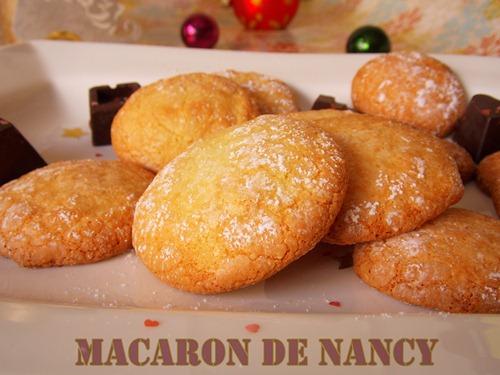 recette macarons de Nancy / cadeau gourmand pour Noel