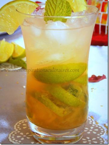 Mojito sans alcool cocktail menthe et citron vert for Cocktail noel sans alcool