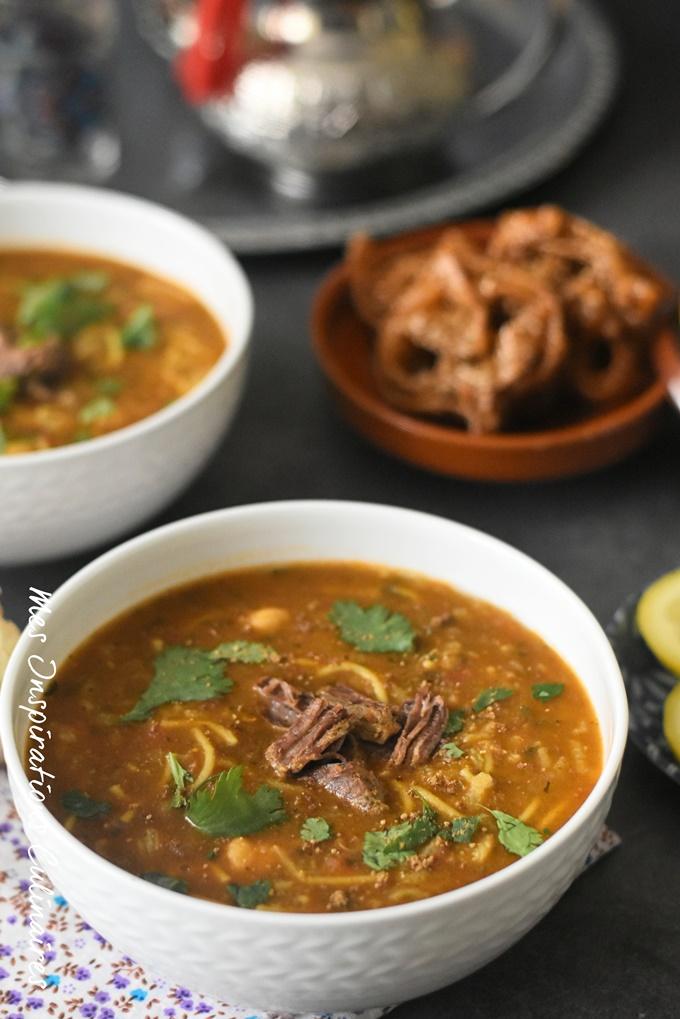 Recette La soupe marocaine (Harira marocaine)