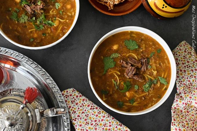 La soupe marocaine (Harira marocaine)