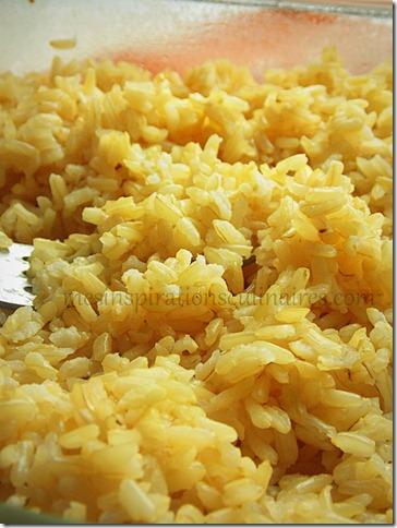 Riz brun comment cuire le riz au four methode facile - Comment cuisiner les vermicelles de riz ...