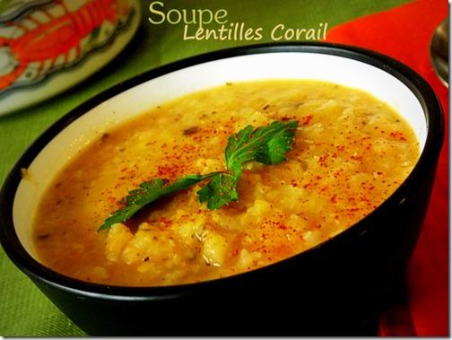 veloute de lentilles corail soupe de lentilles turque le blog cuisine de samar. Black Bedroom Furniture Sets. Home Design Ideas