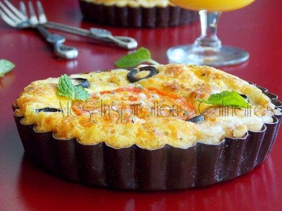 tarte au thon et tomates séchées