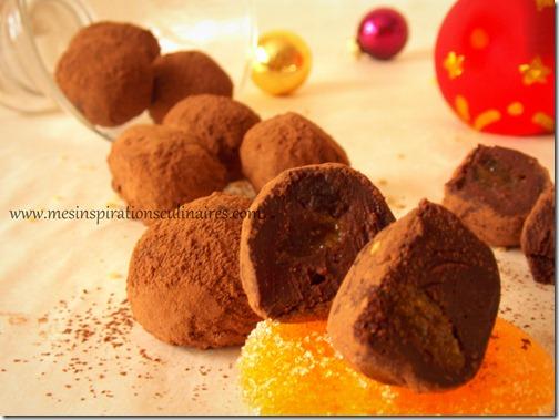 truffes menthe pate de fruit