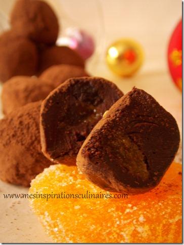 truffes au chocolat noir facile
