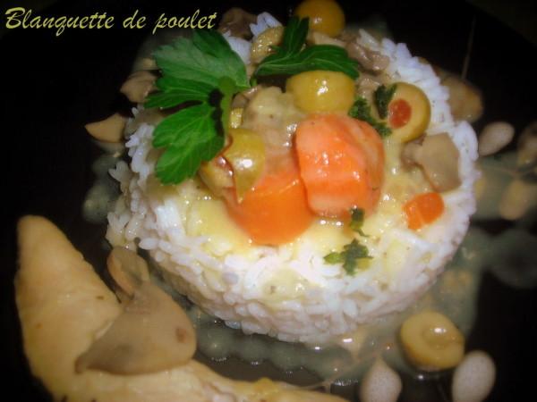 Blanquette de poulet revisit e le blog cuisine de samar - Comment cuisiner des escalopes de poulet ...