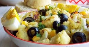 chou fleur roti au four en salade 1