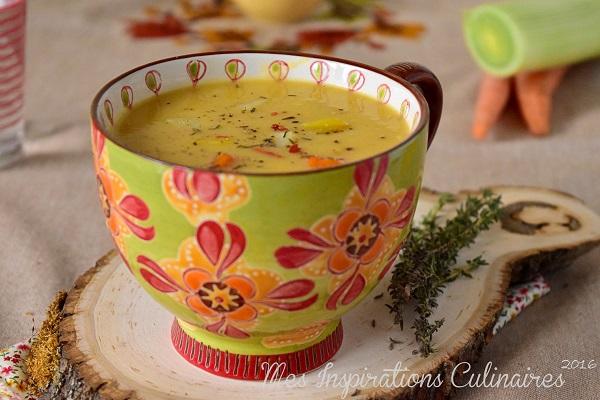 soupe de poireaux et pomme de terre 1