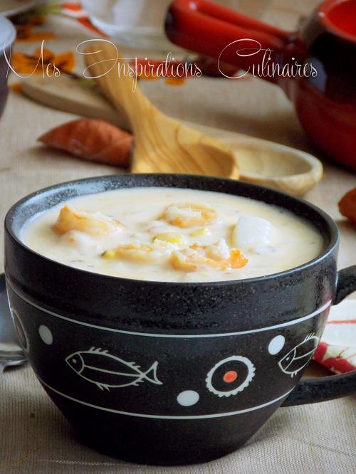 chowder de crevettes 1