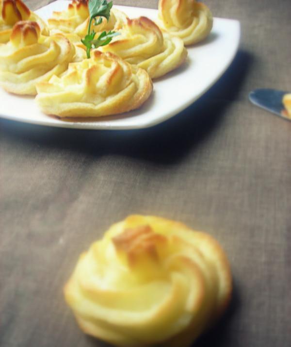 Pommes Duchesses au Parmesan de Sarah