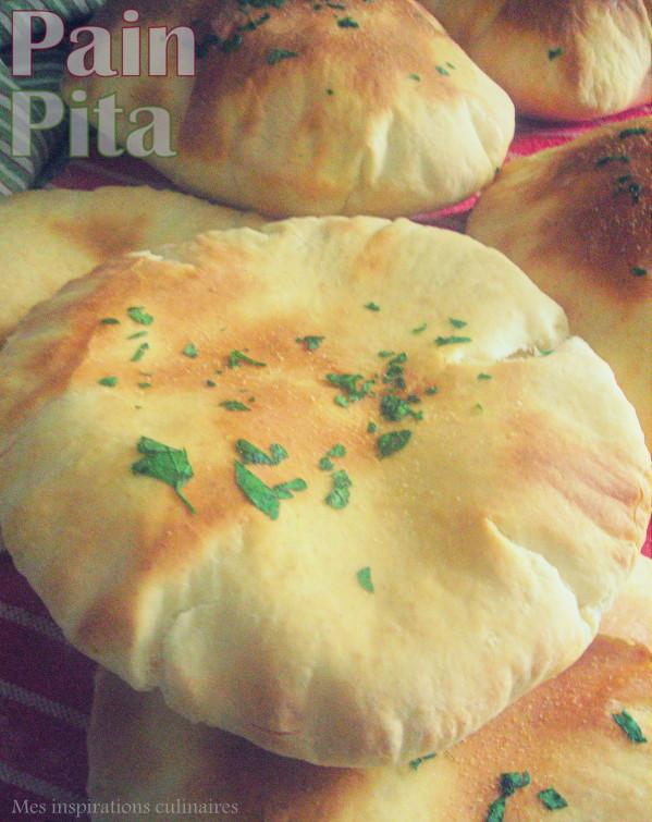 Les pitas, pain pita libanais facile