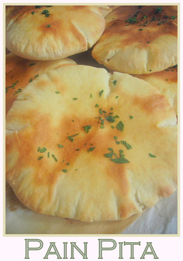 Recette des pitas, pain pita libanais facile