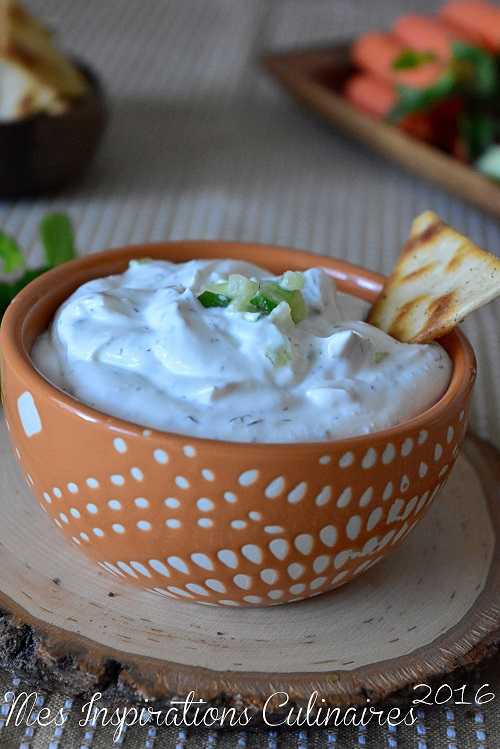 recette tzatziki au concombre 1