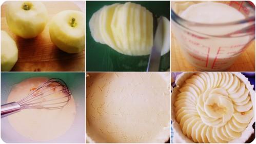tarte pommes noixdecoco