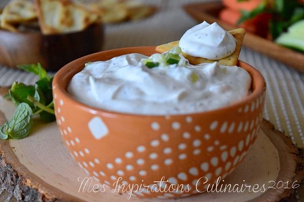 tzatziki recette au yaourt et concombre 1