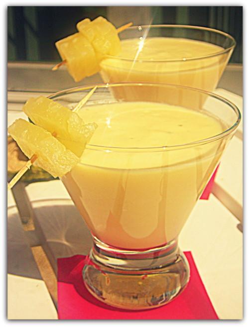 Lassi mangue ananas