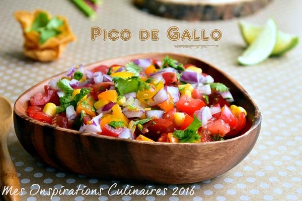 Salsa de Tomates ou Pico de Gallo