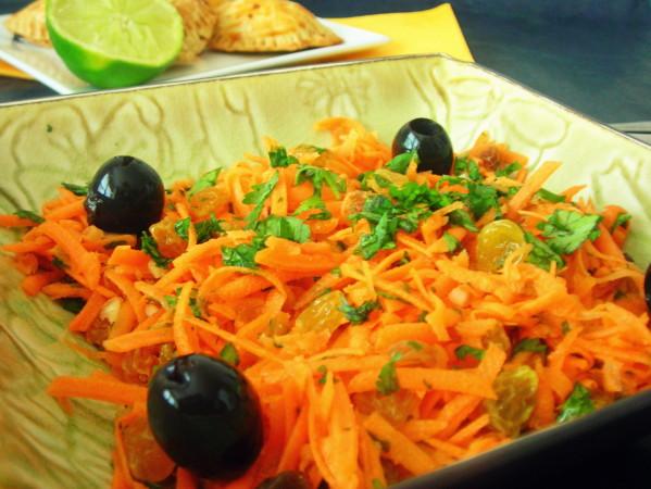 Salsa de carottes aux raisins secs