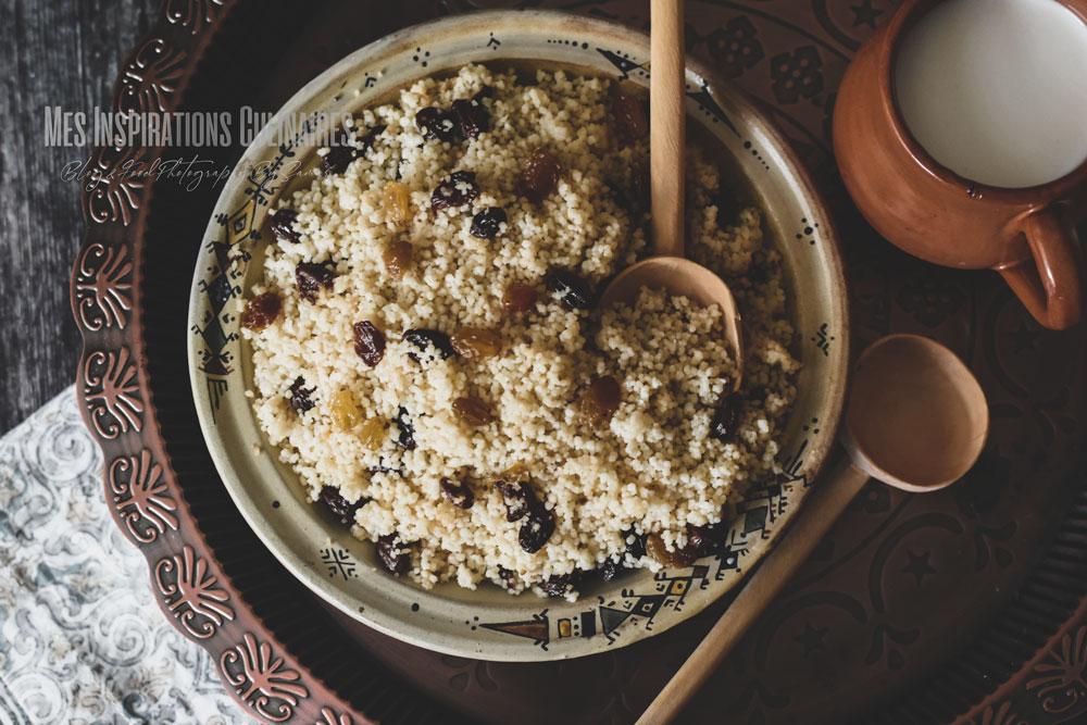 recette seffa aux raisins secs