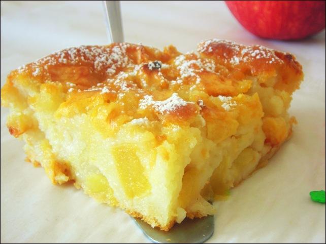 Gateau au pomme sans gluten