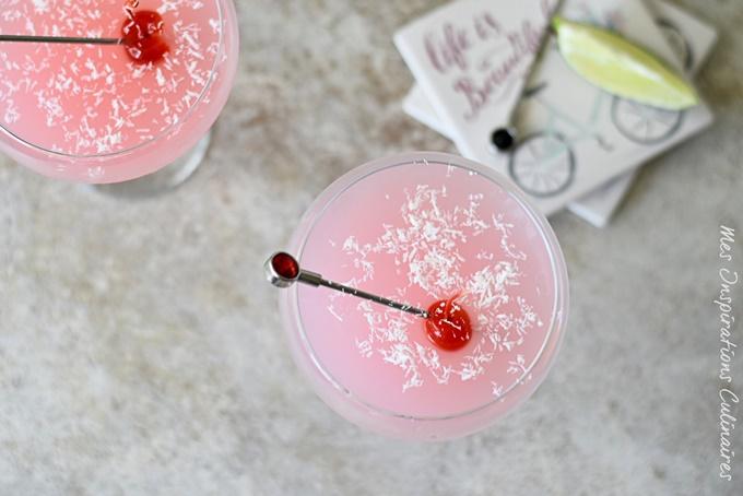Limonade à la fraise, recette facile