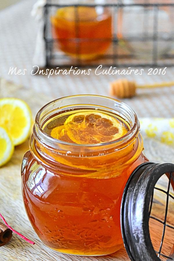 Sirop de miel recette facile 1