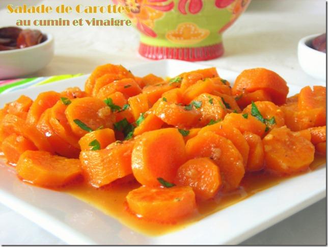 Salade De Carottes A L Algerienne Le Blog Cuisine De Samar