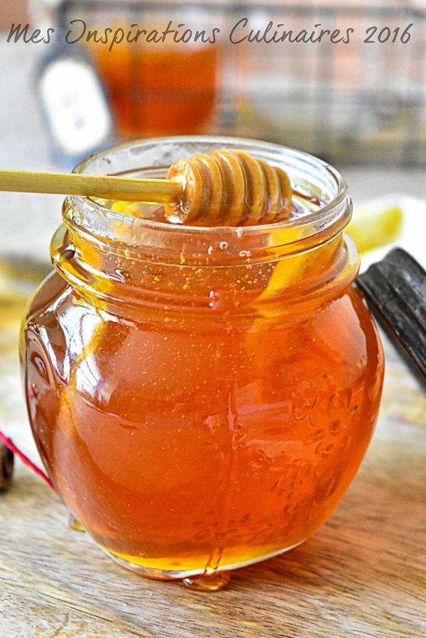sirop de miel fait maison 1