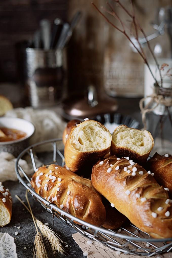 pains briochés maison