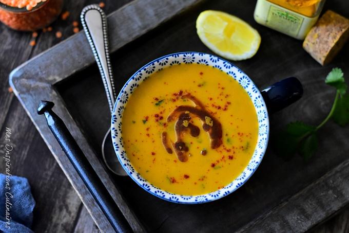 Soupe de lentilles corail (recette égyptienne)