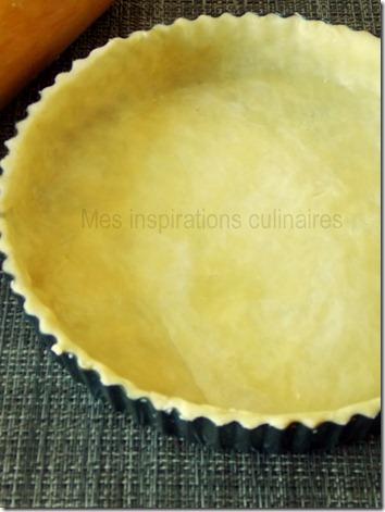 recette pâte brisée facile en image