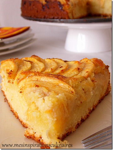 Cake gateau pomme