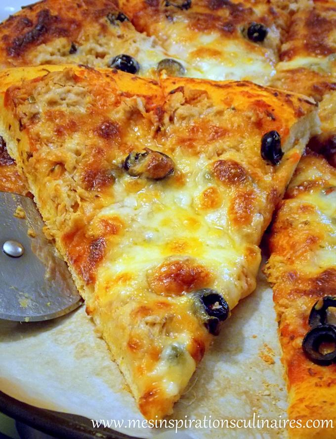 Pizza rapide et facile à la pâte magique 10 min ( عجين العشر دقائق)