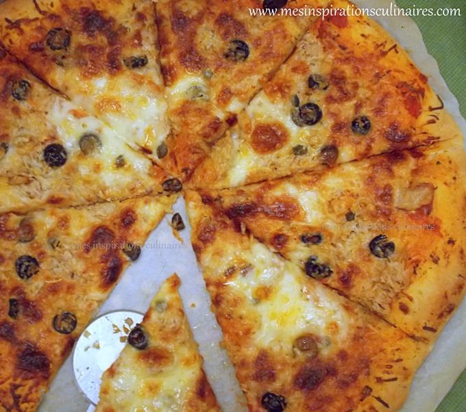 Pizza 10 minutes recette express et facile