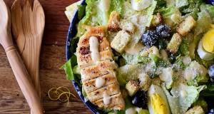 salade cesar - caesar salad 1