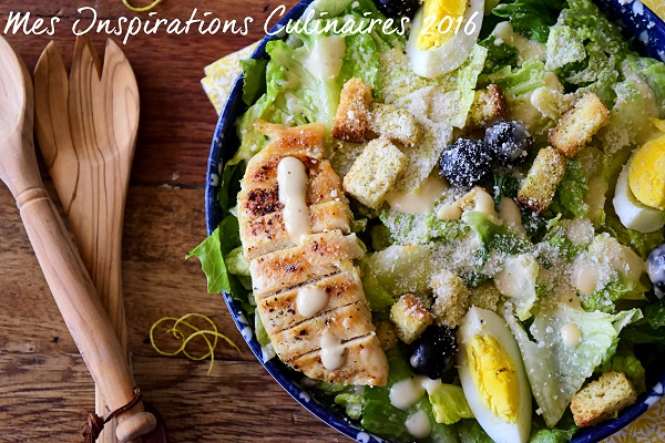 Salade César au poulet - Caesar salad