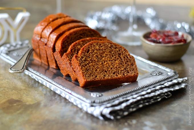 recette de pain d'épices au miel crémeux