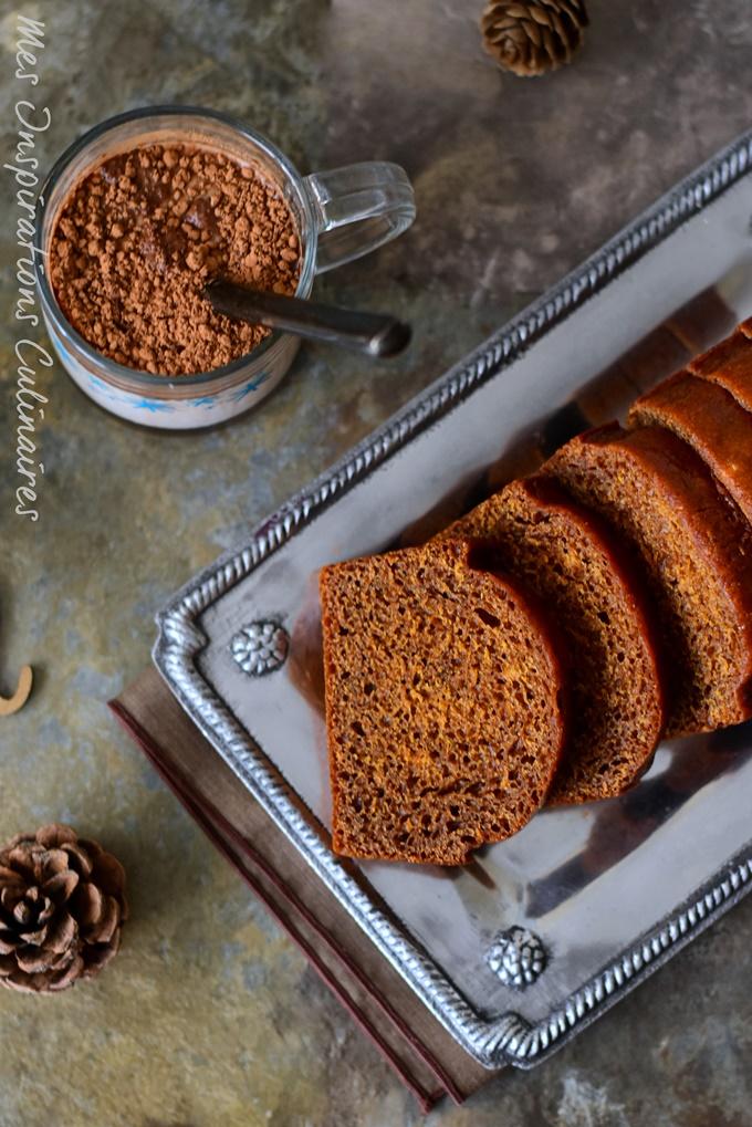 recette de pain d'épices au miel et aux epices