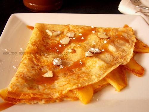 Cr pes bretonnes pommes caramel beurre sal le blog cuisine de samar - Recette pate a crepe bretonne ...