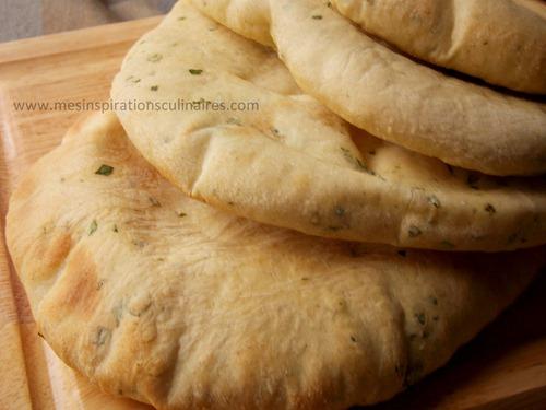 pain pita (pain libanais) / cumin & coriandre