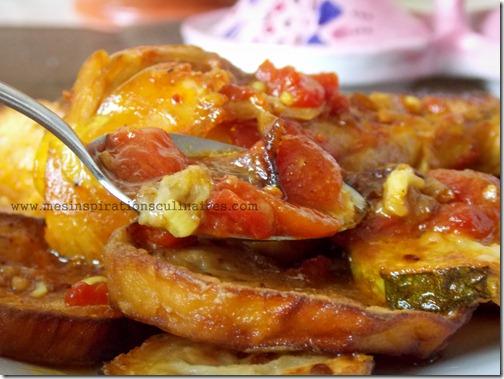 Tajine de poulet aux aubergines cuisine algerienne le for Dicor de cuisine algerienne