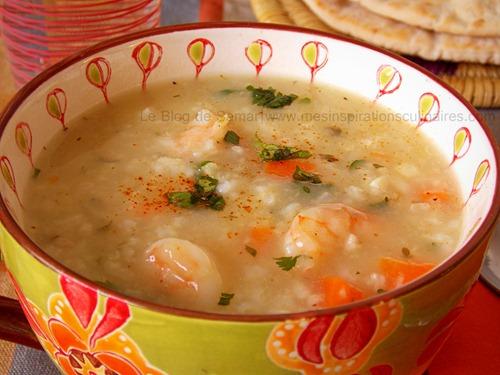 Soupe De Crevettes Le Blog Cuisine De Samar