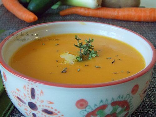 Soupe de légumes d'hiver