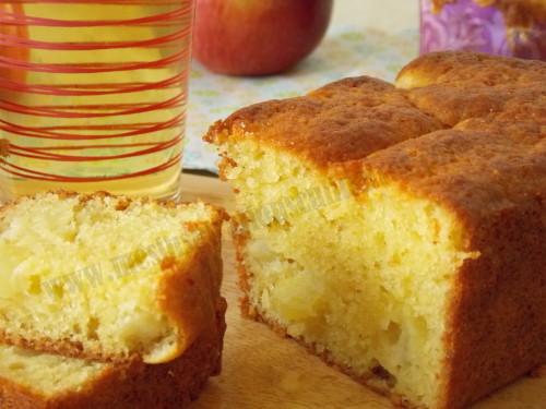 Cake Aux Pommes Avec  Oeuf