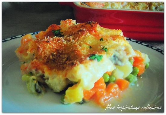 Gratin de poisson sauce bechamel le blog cuisine de samar - Cuisine poisson facile ...