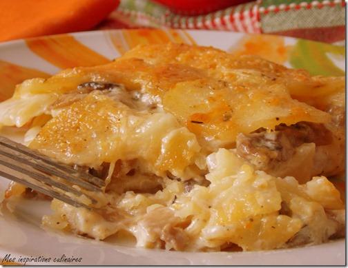 Gratin De Pommes De Terre Aux Champignons Le Blog Cuisine De Samar