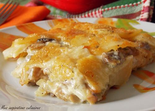 Recette Cake Courgette Champignons