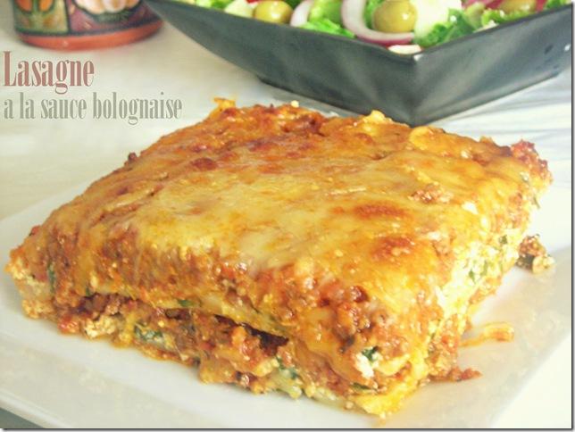 Lasagne la bolognaise recette facile le blog cuisine - Recette de cuisine antillaise facile ...