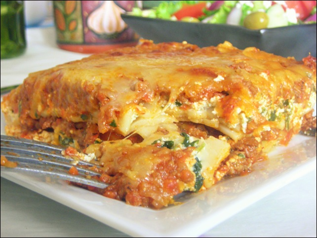 Lasagne la bolognaise recette facile le blog cuisine for Repas rapide et original